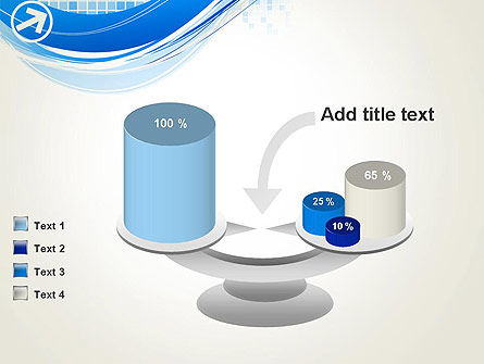 Tech Wave Abstract PowerPoint Template Slide 10