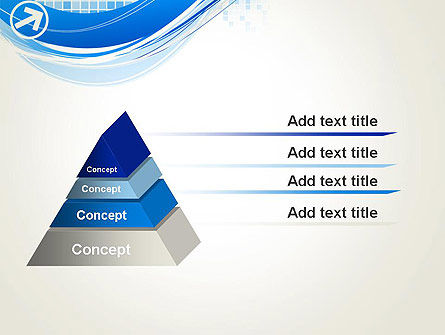 Tech Wave Abstract PowerPoint Template Slide 12
