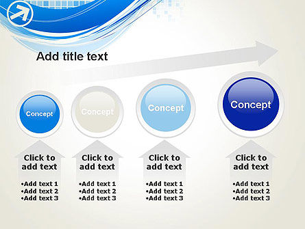 Tech Wave Abstract PowerPoint Template Slide 13