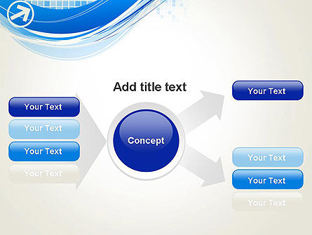 Tech Wave Abstract PowerPoint Template Slide 14