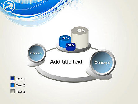 Tech Wave Abstract PowerPoint Template Slide 16