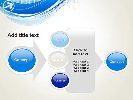 Tech Wave Abstract PowerPoint Template Slide 17