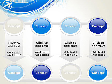 Tech Wave Abstract PowerPoint Template Slide 18