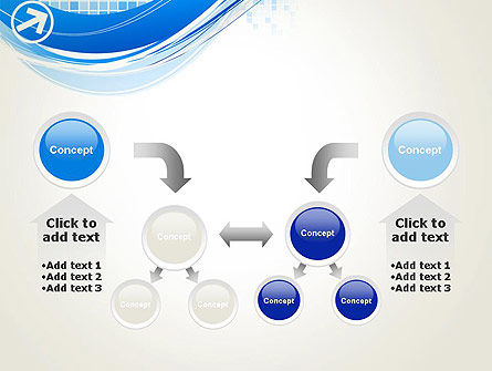 Tech Wave Abstract PowerPoint Template Slide 19