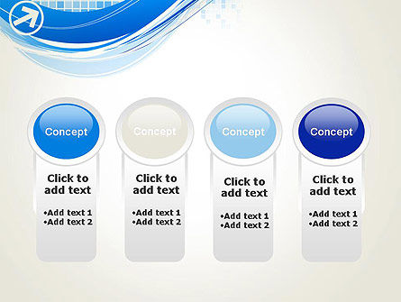 Tech Wave Abstract PowerPoint Template Slide 5