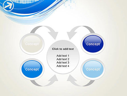 Tech Wave Abstract PowerPoint Template Slide 6