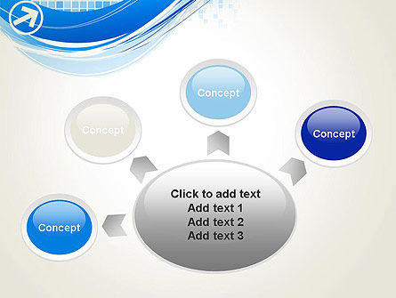 Tech Wave Abstract PowerPoint Template Slide 7