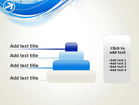 Tech Wave Abstract PowerPoint Template Slide 8