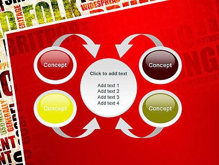 Music Word Cloud PowerPoint Template Slide 6