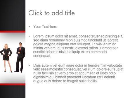 Recruit PowerPoint Template, Slide 3, 13287, People — PoweredTemplate.com