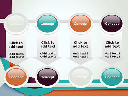 Paper Abstract Application PowerPoint Template Slide 18