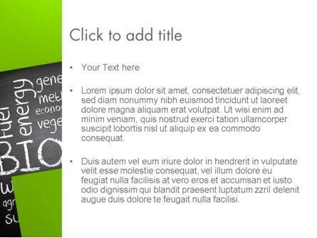 Bio Fuels Word Cloud PowerPoint Template, Slide 3, 13289, Nature & Environment — PoweredTemplate.com