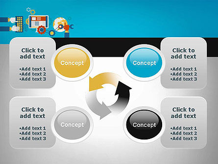 Application Tuning PowerPoint Template Slide 9