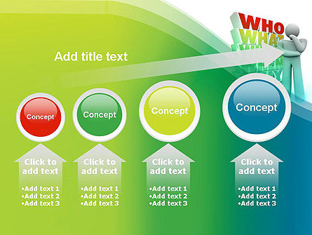 Who What Where When Why PowerPoint Template Slide 13