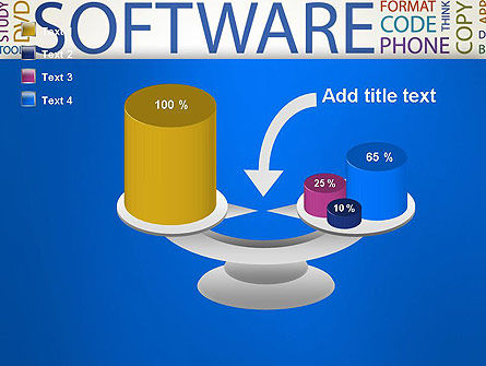 Software Word Cloud PowerPoint Template Slide 10