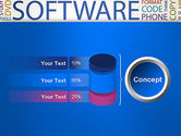 Software Word Cloud PowerPoint Template#11
