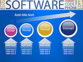 Software Word Cloud PowerPoint Template#13