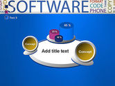 Software Word Cloud PowerPoint Template#16