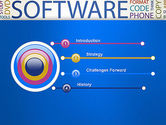 Software Word Cloud PowerPoint Template#3