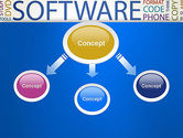 Software Word Cloud PowerPoint Template#4
