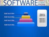 Software Word Cloud PowerPoint Template#8