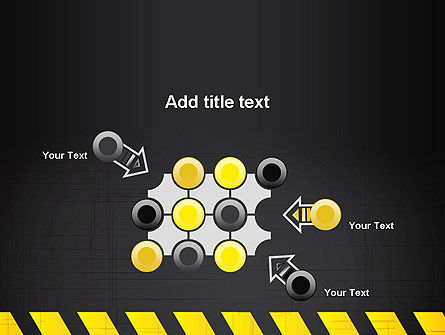 Under Construction Sign PowerPoint Template Slide 10