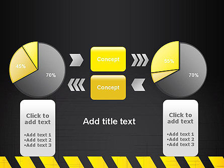 Under Construction Sign PowerPoint Template Slide 16