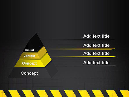Under Construction Sign PowerPoint Template Slide 4