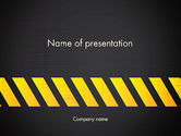 Construction: Onder Constructie Bord PowerPoint Template #13299