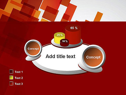 Red Overlapping Squares PowerPoint Template Slide 16