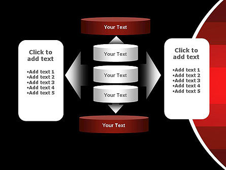 Red Gradient PowerPoint Template Slide 13