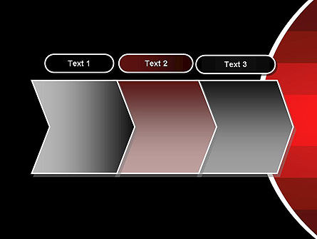 Red Gradient PowerPoint Template Slide 16