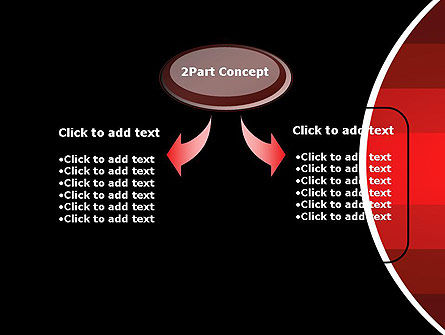 Red Gradient PowerPoint Template Slide 4