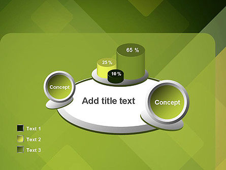 Green Overlapping Layers PowerPoint Template Slide 16