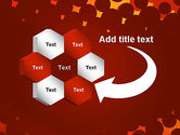Maroon Spots on Red PowerPoint Template#11