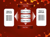Maroon Spots on Red PowerPoint Template#13
