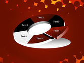 Maroon Spots on Red PowerPoint Template#19