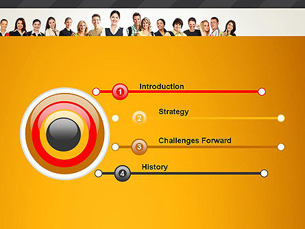 Recruitment Candidates PowerPoint Template, Slide 3, 13310, People — PoweredTemplate.com