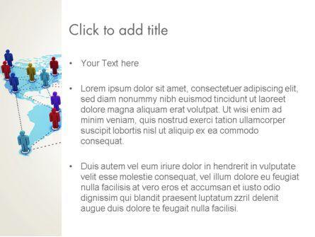 Global Virtual Teams PowerPoint Template, Slide 3, 13312, Global — PoweredTemplate.com