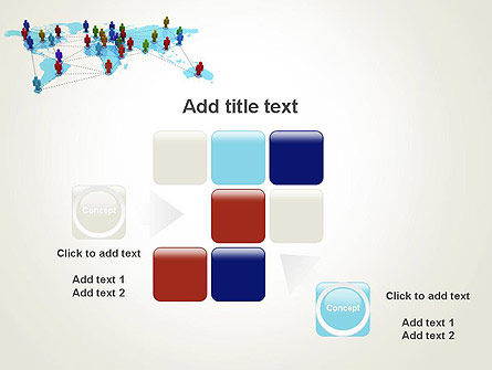 Global Virtual Teams PowerPoint Template Slide 16