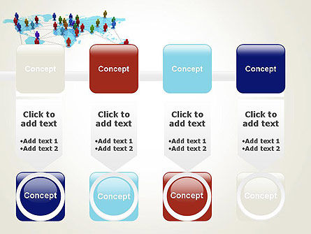 Global Virtual Teams PowerPoint Template Slide 18