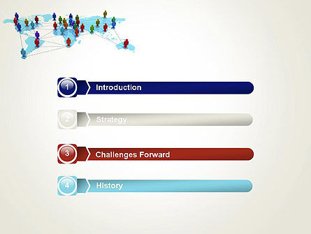 Global Virtual Teams PowerPoint Template, Slide 3, 13312, Global — PoweredTemplate.com