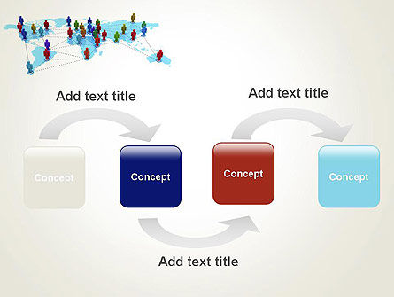 Global Virtual Teams PowerPoint Template, Slide 4, 13312, Global — PoweredTemplate.com