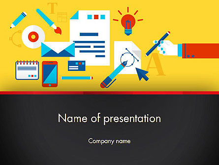Corporate Design PowerPoint Template, 13314, Careers/Industry — PoweredTemplate.com