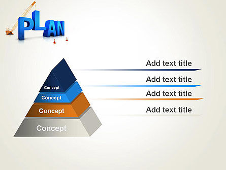 Building Success Plan PowerPoint Template, Slide 4, 13315, 3D — PoweredTemplate.com