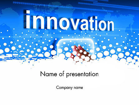 Innovation Button PowerPoint Template