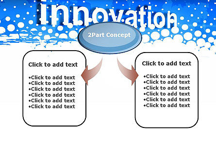 Innovation Button PowerPoint Template, Slide 4, 13321, Business Concepts — PoweredTemplate.com