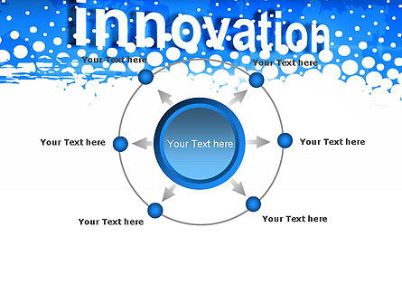 Innovation Button PowerPoint Template Slide 7