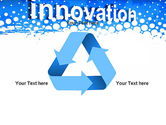 Innovation Button PowerPoint Template#10