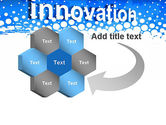 Innovation Button PowerPoint Template#11
